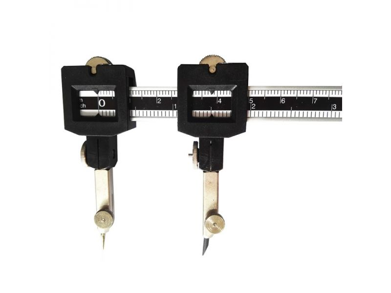 compasses rod with a radius up to 63 cm.