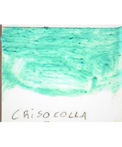 Chrysocolla, mineral, Russian pigment