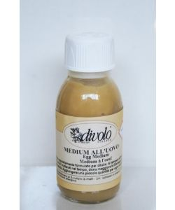 Medium all'uovo (emulsione pronta), Divolo