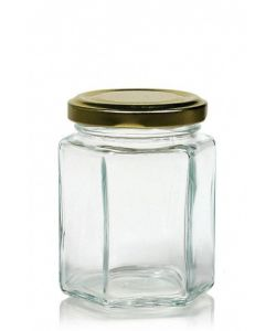 Resistant glass container with screw cap ml.47