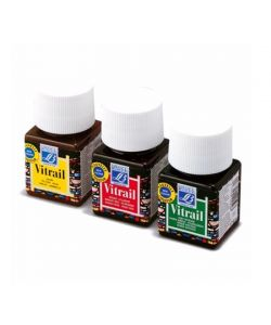 Color VITRAIL 50 ml. Lefranc for painting on glass