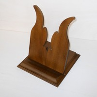 Wooden icon holder supports