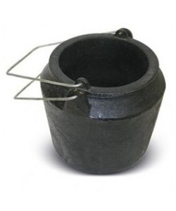 Cast iron pot for gilders 200 ml