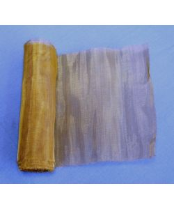 brass net, for sanding, mesh 0.10 mm - cm 100x10 h